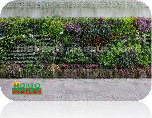L'utilisation du filet comme support pour vos plantes rampantes d'ornement.